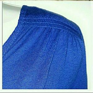 NWT! LUCKY BRAND CUTE BLUE TOP